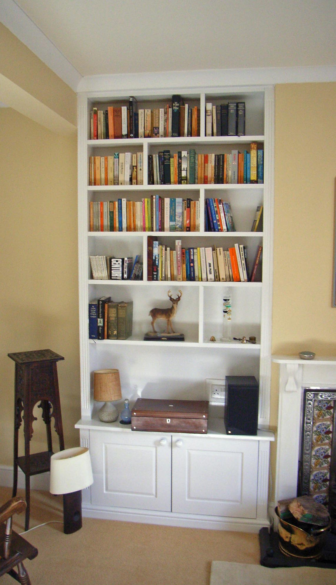 Bespoke Fitted Alcove Units - Fitted Furniture - Shelving Solutions