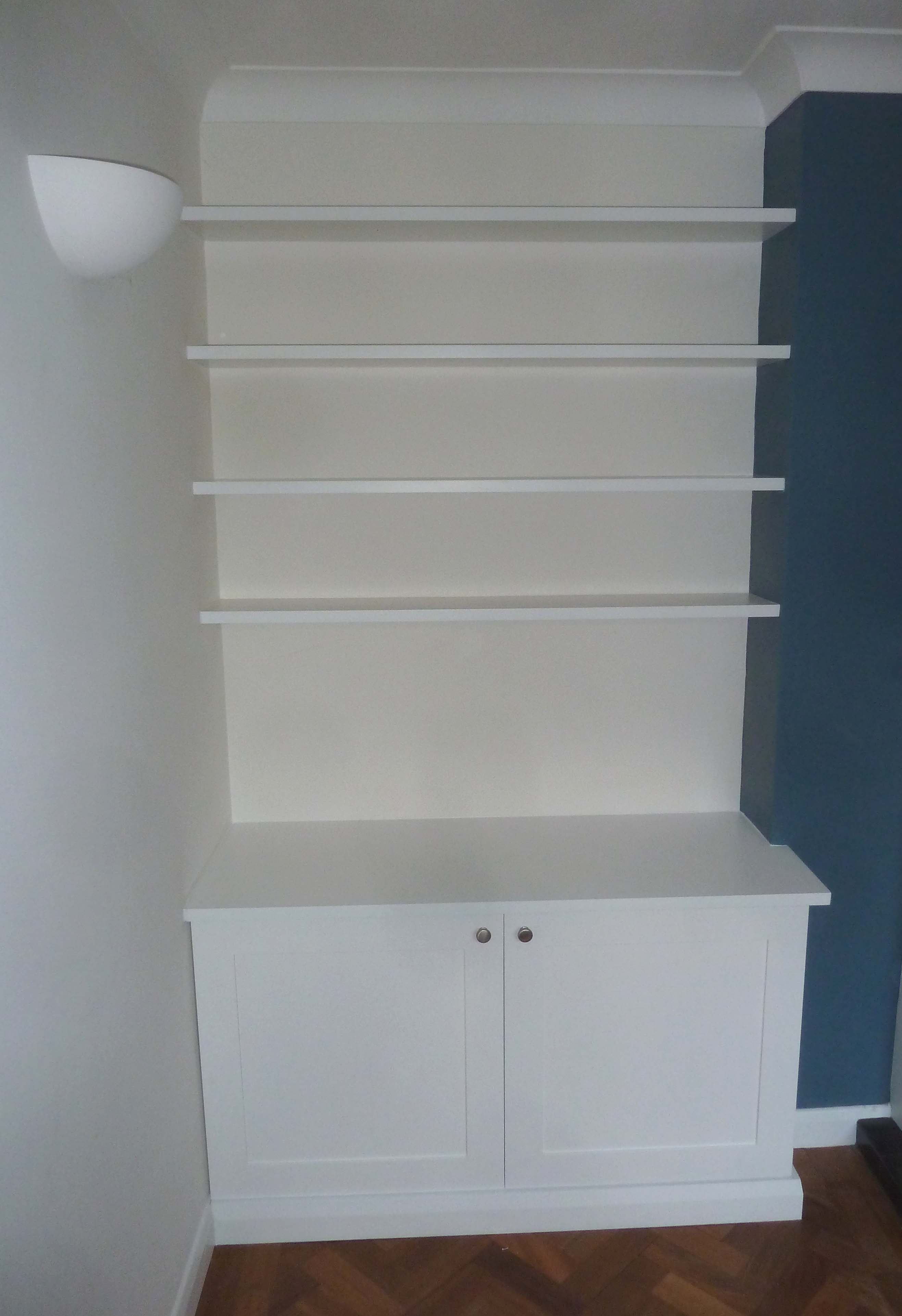 quality design 44812 05a4a Bespoke Fitted Alcove Units - Fitted Furniture - Shelving ...
